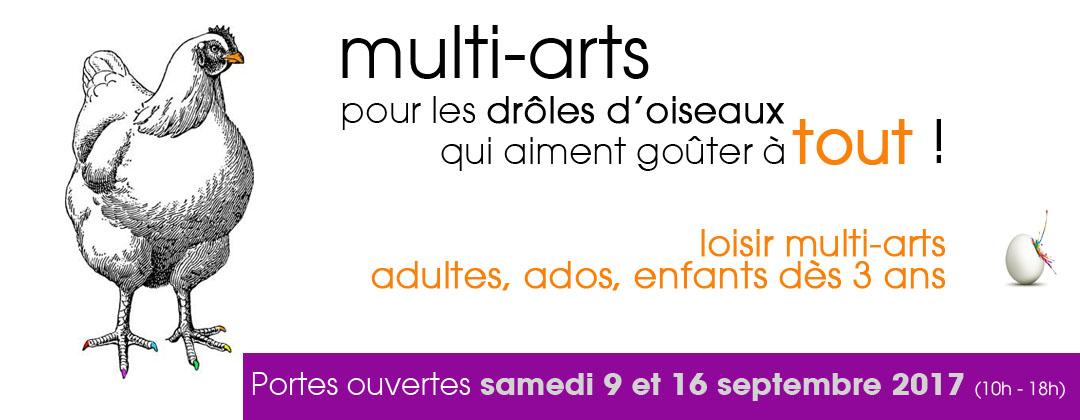 multi-arts Pool d'art portes ouvertes 2017