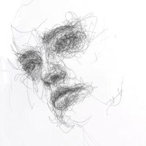 Scribble face #27